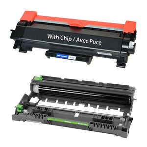Brother TN760 Toner & DR730 Drum Combo, Compatible