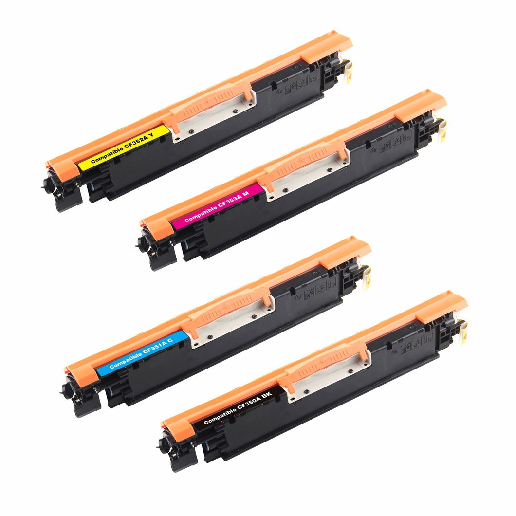 HP 130A Toner Cartridge Combo BK/C/M/Y