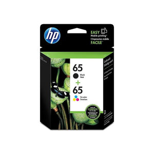 HP 65 T0A36AN Original Black and Tri-color Ink Cartridge