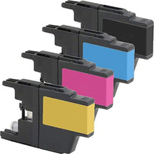 Load image into Gallery viewer, Brother MFC-J430W Ink Cartridge Combo High Yield BK/C/M/Y