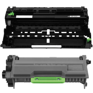 Brother TN-850 Toner & DR-820 Drum Combo, Compatible