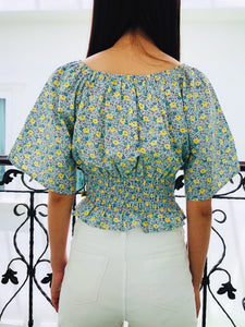Lovely Wildflowers Top