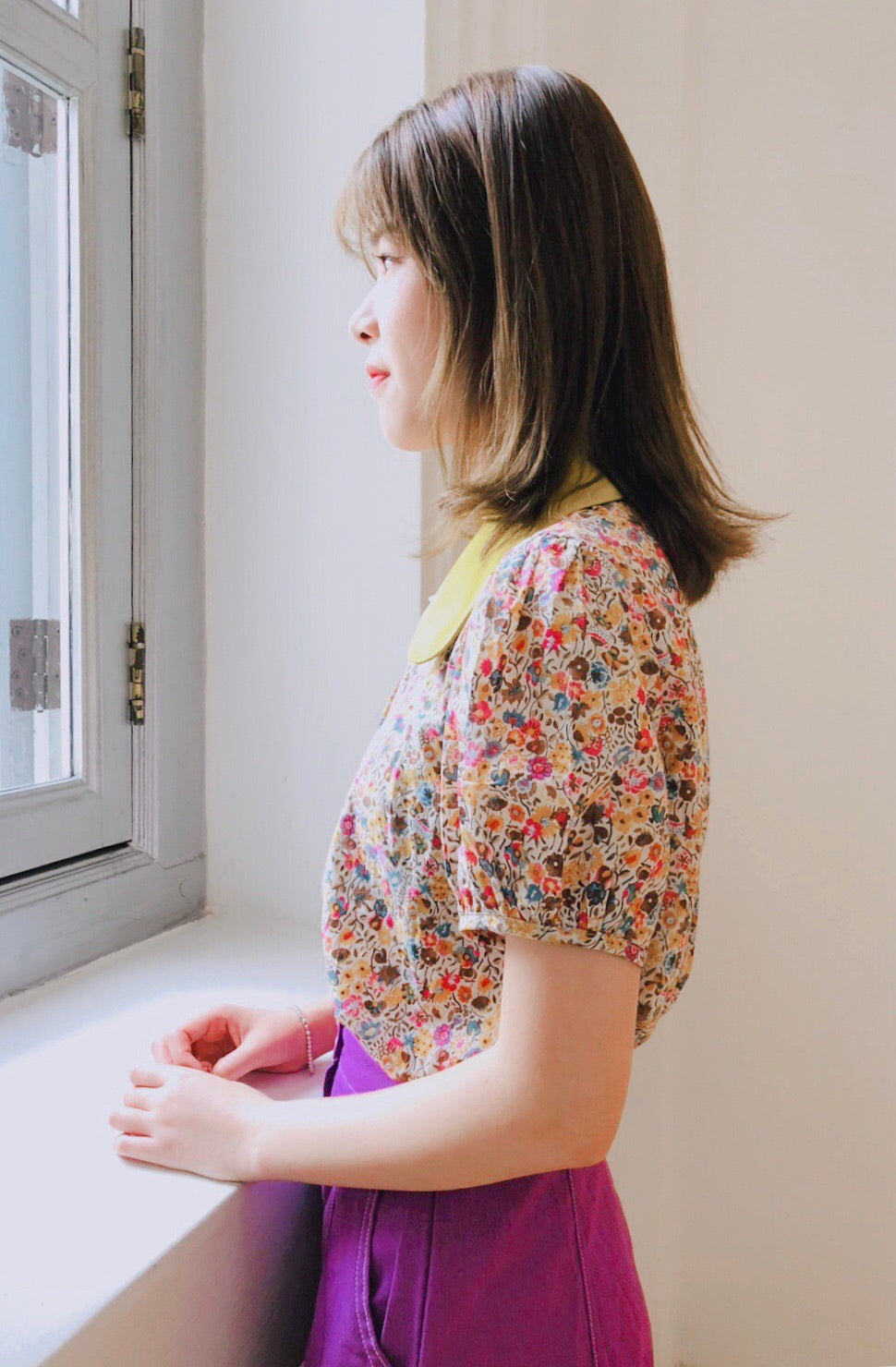 Vintage Flower Blouse