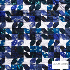 Free easy Wonky Star quilt pattern