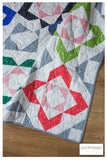 Chamred. Modern HST block quilt by Lou Orth