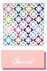 Charmed quilt pattern by Lou Orth Fat Quarter friendly quilts