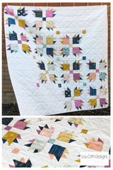 Lou orth Designs Paw Tracks Quilt pattern