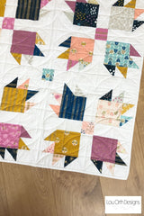 Lou orth Designs Paw Tracks quilt