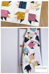 Modern Bear quilt pattern by Lou Orth Designs