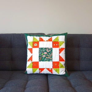 array quilt cushion in Art Gallery Fabrics