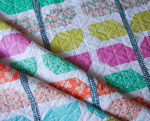 Sprout quilt pattern by Lou Orth Designs