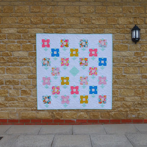 Wildflower Meadow quilt pattern by Lou Orth Designs