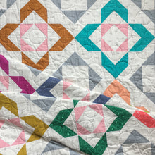 Load image into Gallery viewer, Charmed quilt pattern. Modern HST design