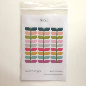 Sprout paper pattern (x 5) wholesale