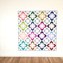 Load image into Gallery viewer, Charmed quilt design by Lou Orth