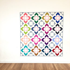 Charmed quilt design by Lou Orth