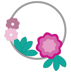Garland applique pattern