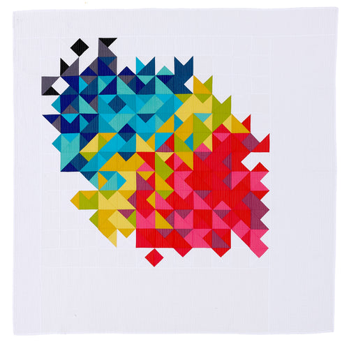 Lou Orth Fraction quilt pattern