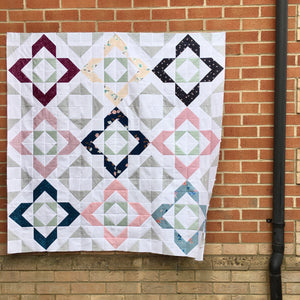Charmed small lap quilt