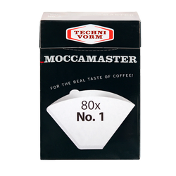 MOCCAMASTER NO.1 FILTER PAPERS -80 BOXED