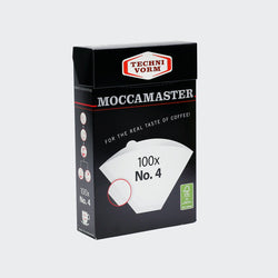 MOCCAMASTER NO.4 FILTER PAPERS -100 BOXED