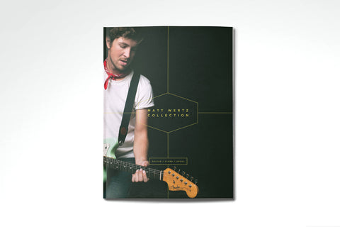 Matt Wertz Collection Songbook
