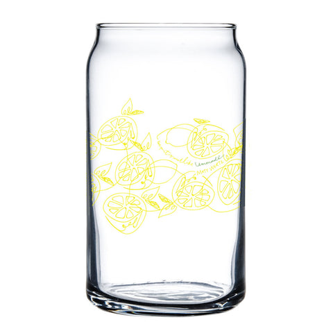Lemonade Glass Can
