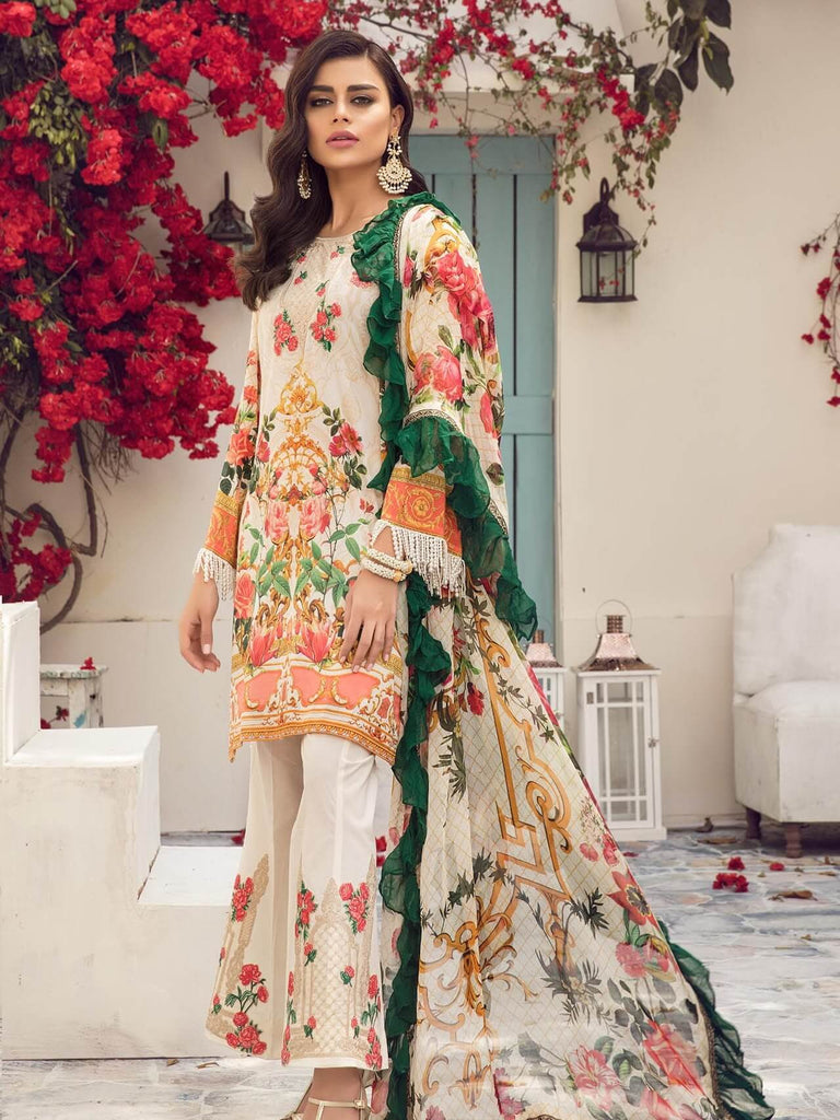 98e75f9b28 ... Embroidered Lawn 3 Piece Suit 01 B Pearl Rush. Reemal Khan 01 B Pearl  Rush