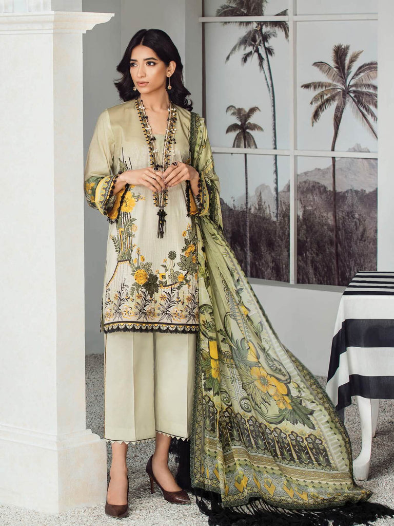8c4e55cd74 BAROQUE Fuchsia Lawn 2019 Embroidered 3PC Suit FL 01 Summer Bloom ...