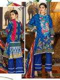 Yashfeen Premium Lawn 2019 Embroidered 3 Piece Suit YS-907/B - FaisalFabrics.pk