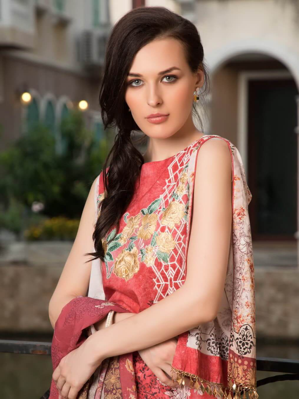 KHAS Designer Lawn Collection 2019 Unstitched 2PC Suit RKL-13021 - FaisalFabrics.pk