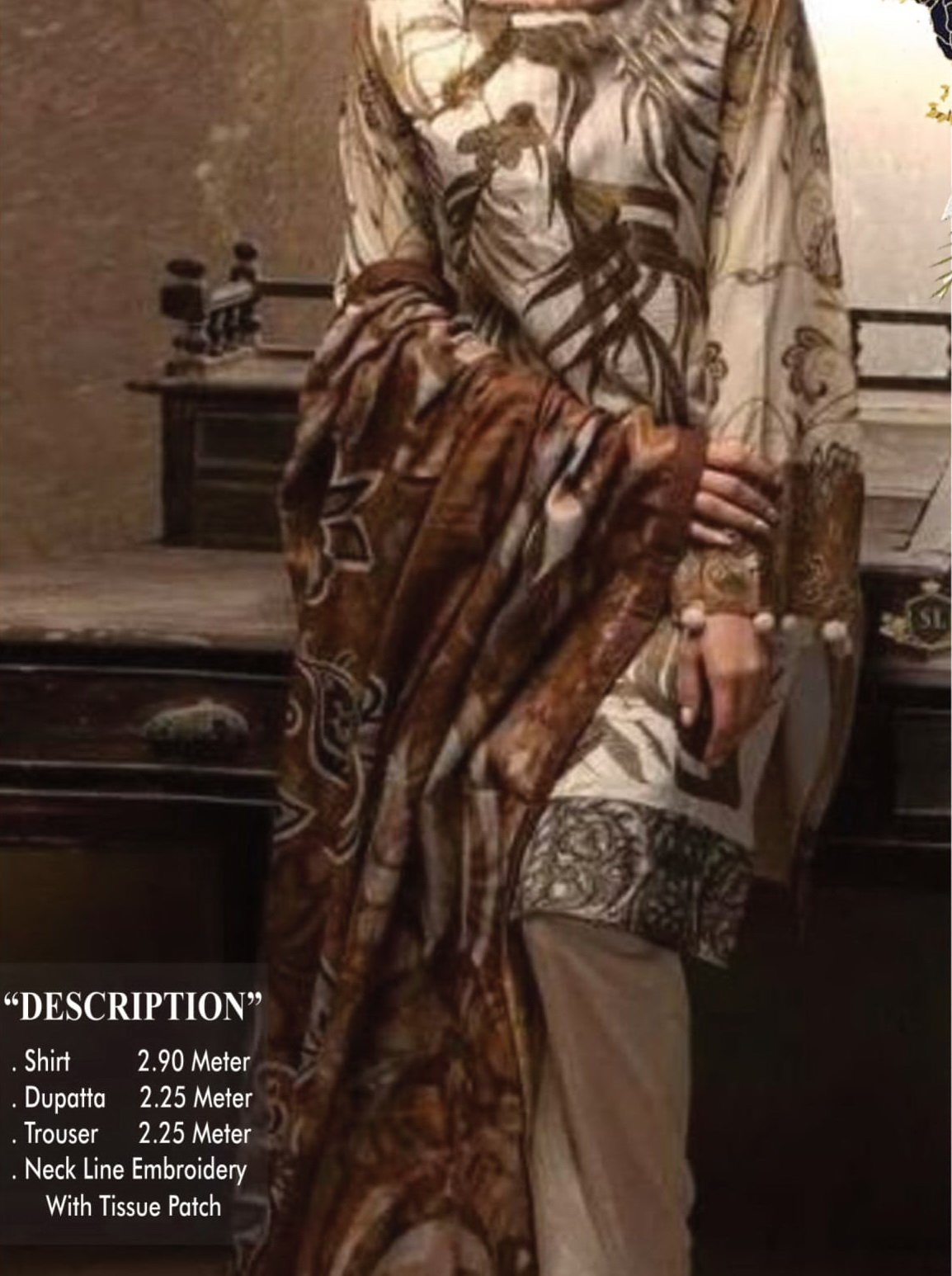 Areesha Premium Embroidered Lawn Collection 2020 3pc Suit D-04 - FaisalFabrics.pk