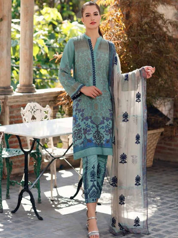 CHARIZMA Embroidered Karandi 2020 Unstitched 3 Piece Suit KR-01