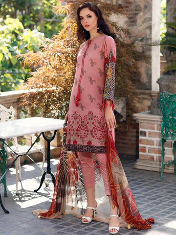 CHARIZMA Embroidered Karandi 2020 Unstitched 3 Piece Suit KR-02