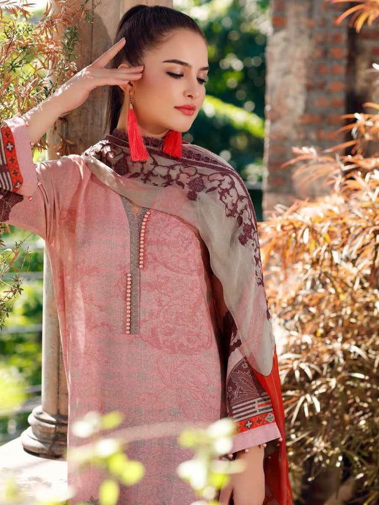 CHARIZMA Embroidered Karandi 2020 Unstitched 3 Piece Suit KR-08 - FaisalFabrics.pk