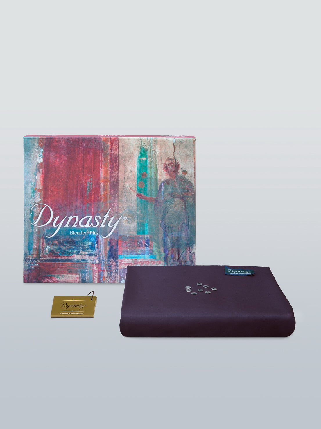 DYNASTY PRIDE Blue Berry Wash & Wear Men's Unstitched suit for Winter - FaisalFabrics.pk
