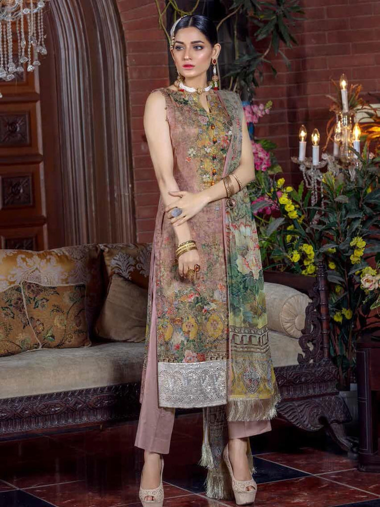 Irma Festive Eid Collection 2019 Embroidered Lawn 3PC Suit D 1530