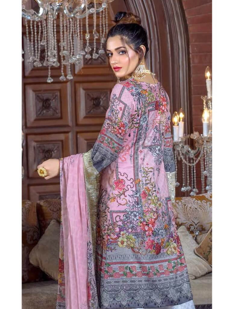 Irma Festive Eid Collection 2019 Embroidered Lawn 3PC Suit D 1532