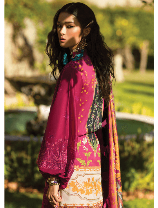 ELAN Luxury Lawn 2019 Untitched Embroidered 3PC Suit LUJURIA EL 12A - FaisalFabrics.pk