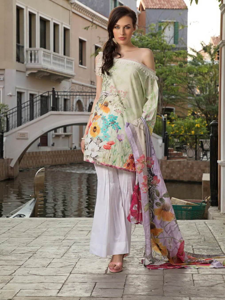 KHAS Designer Lawn Collection 2019 Unstitched 2PC Suit RKL-13026 - FaisalFabrics.pk