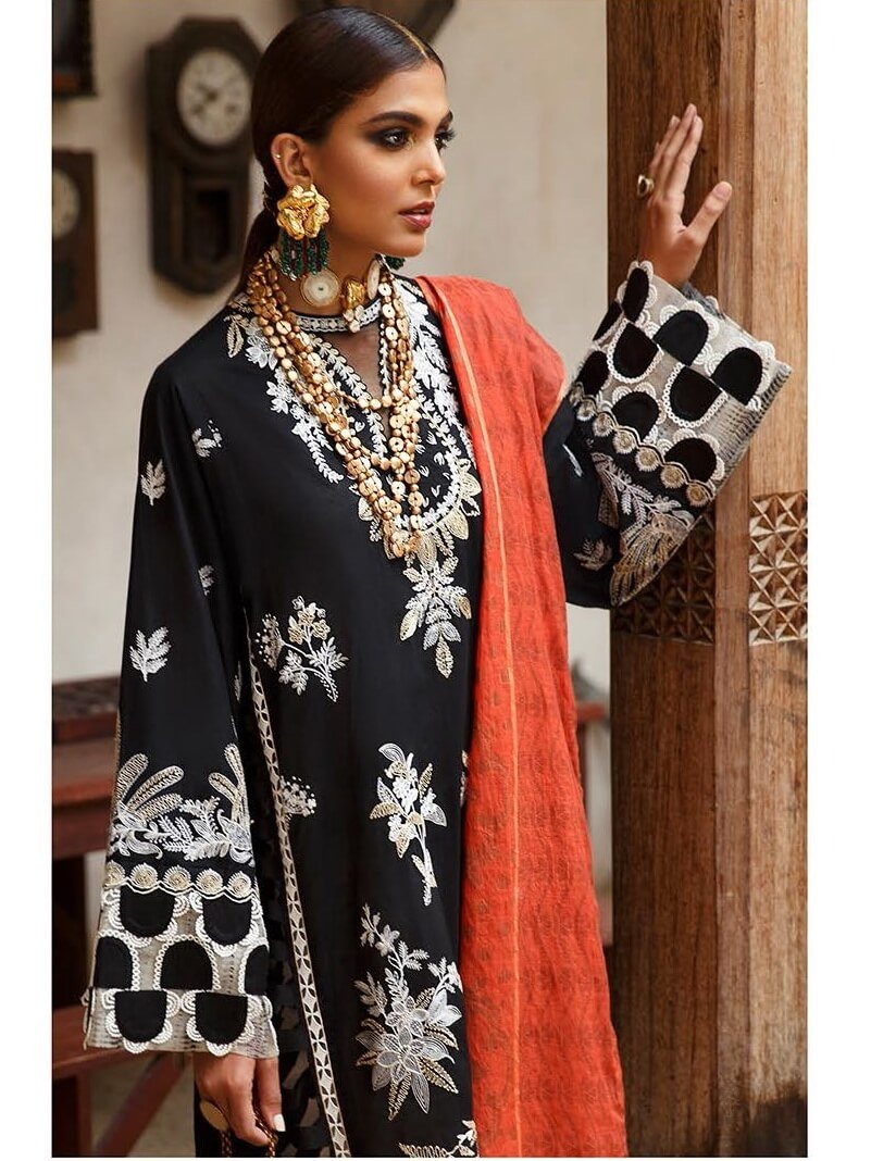 Elan Lawn Summer 2020 Embroidered 3PC Suit EL-13A KESI - FaisalFabrics.pk