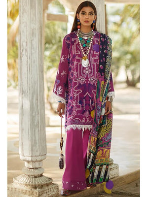 Elan Lawn Summer 2020 Embroidered 3PC Suit EL-1B NYOTA - FaisalFabrics.pk