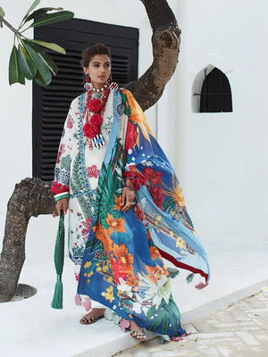 Elan Lawn Summer 2020 Embroidered 3PC Suit EL-2A MISTU - FaisalFabrics.pk