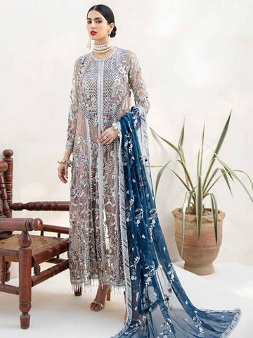 EMAAN ADEEL Elegant Bridal Collection Vol-3 Embroidered 3PC Suit EA-302