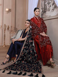 Emaan Adeel Luxury Embroidered Velvet Shawl Edition S-104