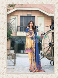 Five Star Devin Printed Lawn Summer 2019 Unstitched 3PC Suit D 007 A