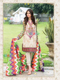 Five Star Devin Printed Lawn Summer 2019 Unstitched 3PC Suit D 010 A - FaisalFabrics.pk