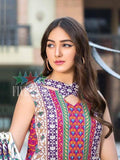 Five Star Devin Printed Lawn Summer 2019 Unstitched 3PC Suit D 015 A - FaisalFabrics.pk