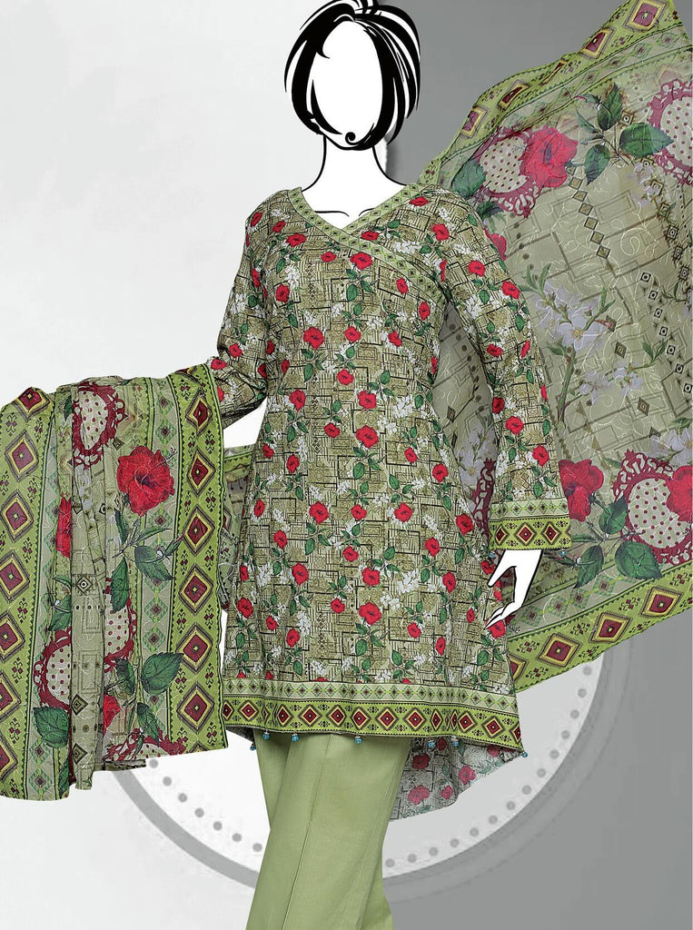 Sara Junaid Luxury Embroidered Lawn Eid Collection 2019 GE 1169 - FaisalFabrics.pk