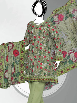 Al-Boutique - Sara Junaid Luxury Embroidered Lawn Eid Collection 2019 GE 1169 - faisalfabrics-pk